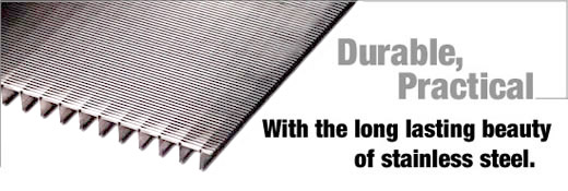 Kd98 Stainless Steel Grating